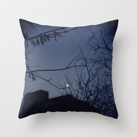 Highline Moon Throw Pillow