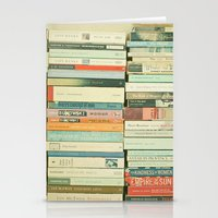 happy Stationery Cards featuring Bookworm by Cassia Beck