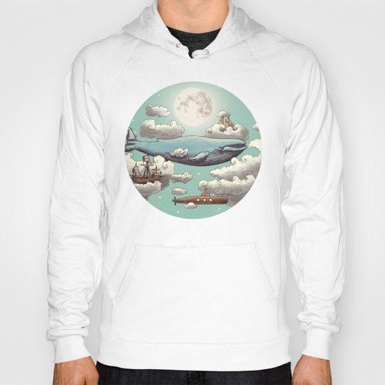 Ocean Meets Sky  Hoody