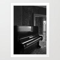 Grand Old Piano Art Print