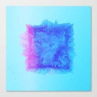 Blue mode Canvas Print