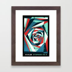 Mahler - Symphony No. 5 Framed Art Print