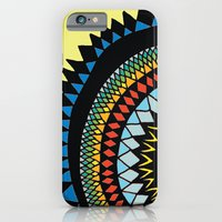 iPhone & iPod Case featuring Patterned Sun II by Maddie Wainwright
