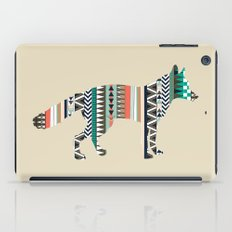 Fox With Tribal Pattern iPad Case
