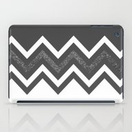 iPad Case featuring Glitter Chevron by EARTh