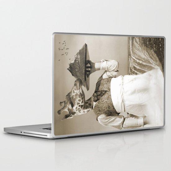 giraffe waiter  Laptop & iPad Skin