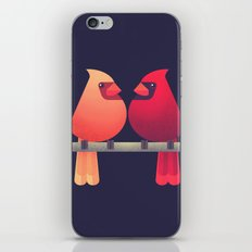 Northern Cardinals On A … iPhone & iPod Skin