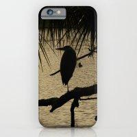 Heron Silhouette iPhone 6 Slim Case