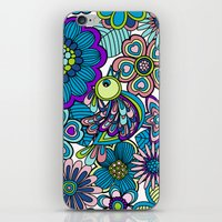 Welcome Birds To  My Gar… iPhone & iPod Skin