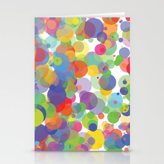 Candy Dots Stationery Card