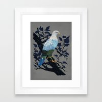 Eaglescape Framed Art Print