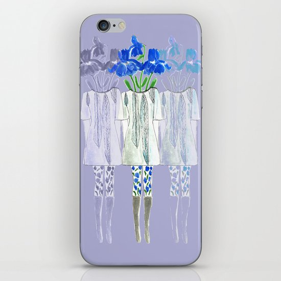 Iris Illustration iPhone & iPod Skin