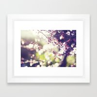 Daydreaming. Framed Art Print