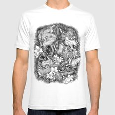 Maelstrom Mens Fitted Tee White SMALL