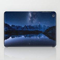 Night mountains iPad Case