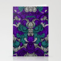 Chaotic Pattern Stationery Cards