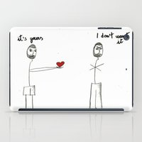 My heart is yours iPad Case