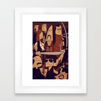Machete Framed Art Print