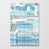 Sky Scraped Canvas Print