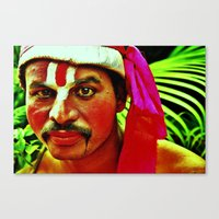 The Ramayana Actor Canvas Print