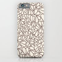 iPhone & iPod Case featuring Hearts clear by Kim Moulder