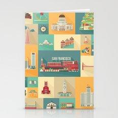 San Francisco Landmarks Stationery Cards