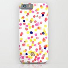 Watercolor Confetti! iPhone 6s Slim Case