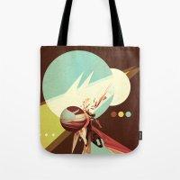Vintage Space Poster Ser… Tote Bag