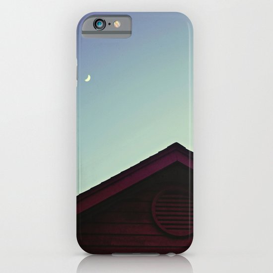 The Moon and The Red House iPhone & iPod Case