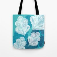 Falling Feathers  Tote Bag