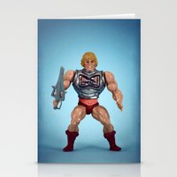 He-Man Battle Damage  Stationery Cards