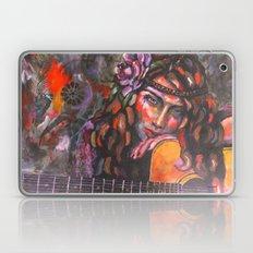 Layla and Her Guitar Laptop & iPad Skin