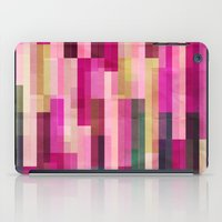 Pinks And Parallels iPad Case