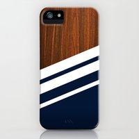 iPhone 5s & iPhone 5 Cases featuring Wooden Navy by Nicklas Gustafsson