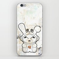 Space Bunny iPhone & iPod Skin