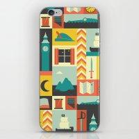 Peter iPhone & iPod Skin
