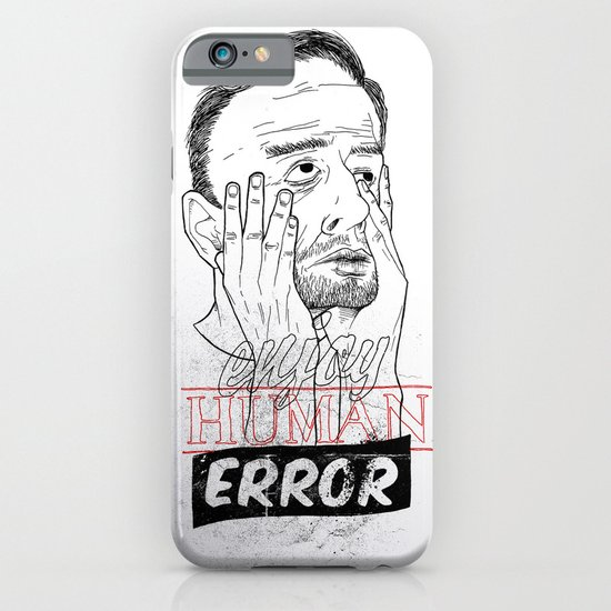 enjoy human error iPhone & iPod Case