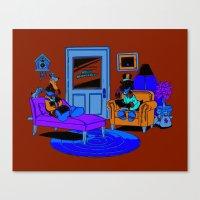 Quack Therapy Canvas Print