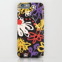 iPhone & iPod Case featuring Floral Fiesta by Nett Designs