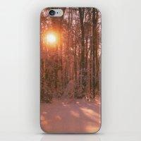 Sunrise In Winter iPhone & iPod Skin