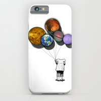 Planet balloon girl iPhone 6 Slim Case