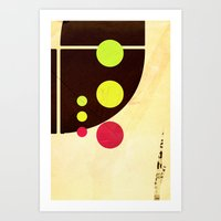 Traffic Light Tragedy Art Print