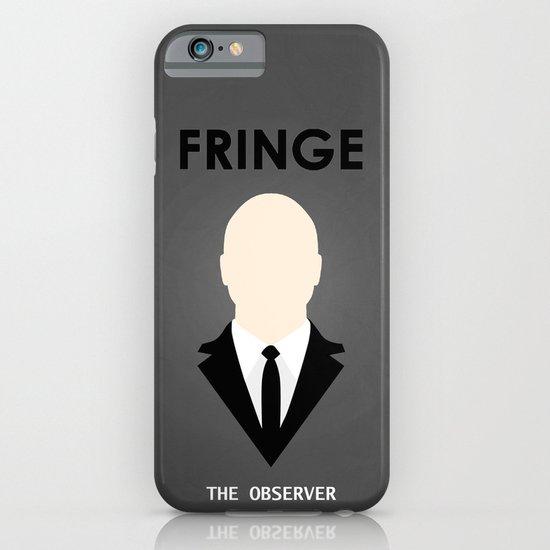 Fringe - Minimalist Poster 03 iPhone & iPod Case
