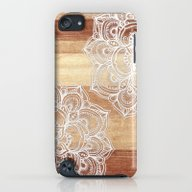 White Doodles On Blonde … iPod touch Slim Case