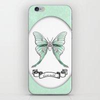 Actias luna iPhone & iPod Skin