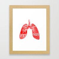 Anatomical Inaccuracy  Framed Art Print