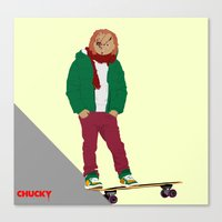 CHUCKY - Modern outfit version Canvas Print