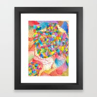 Clusters 3 Framed Art Print