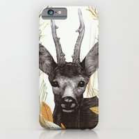 iPhone & iPod Case featuring among the leaves (morning) by Federico Faggion