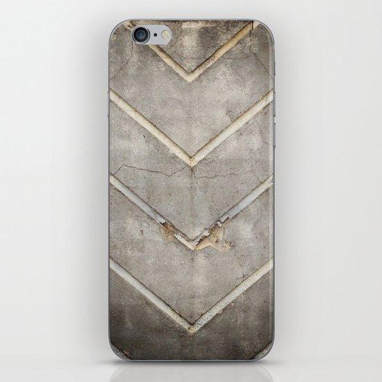 Concrete Chevron iPhone & iPod Skin